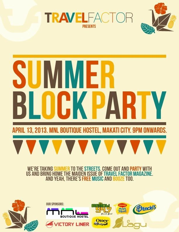 Block Party Flyer Templates Free Inspirational Summer Block Party Block Party