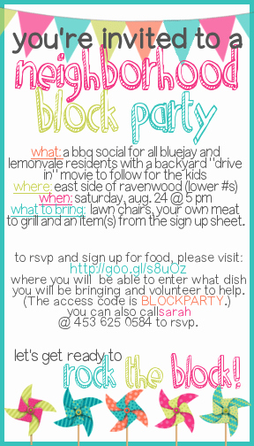 Block Party Flyer Templates Fresh How to Throw A Block Party A Free Printable Invitation