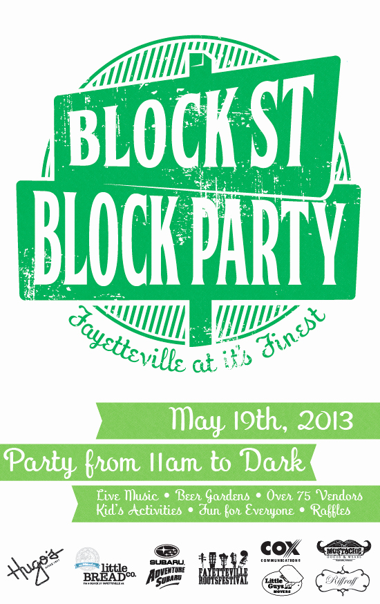 Block Party Flyer Templates New Flyer Guide 2013 Block Street Block Party