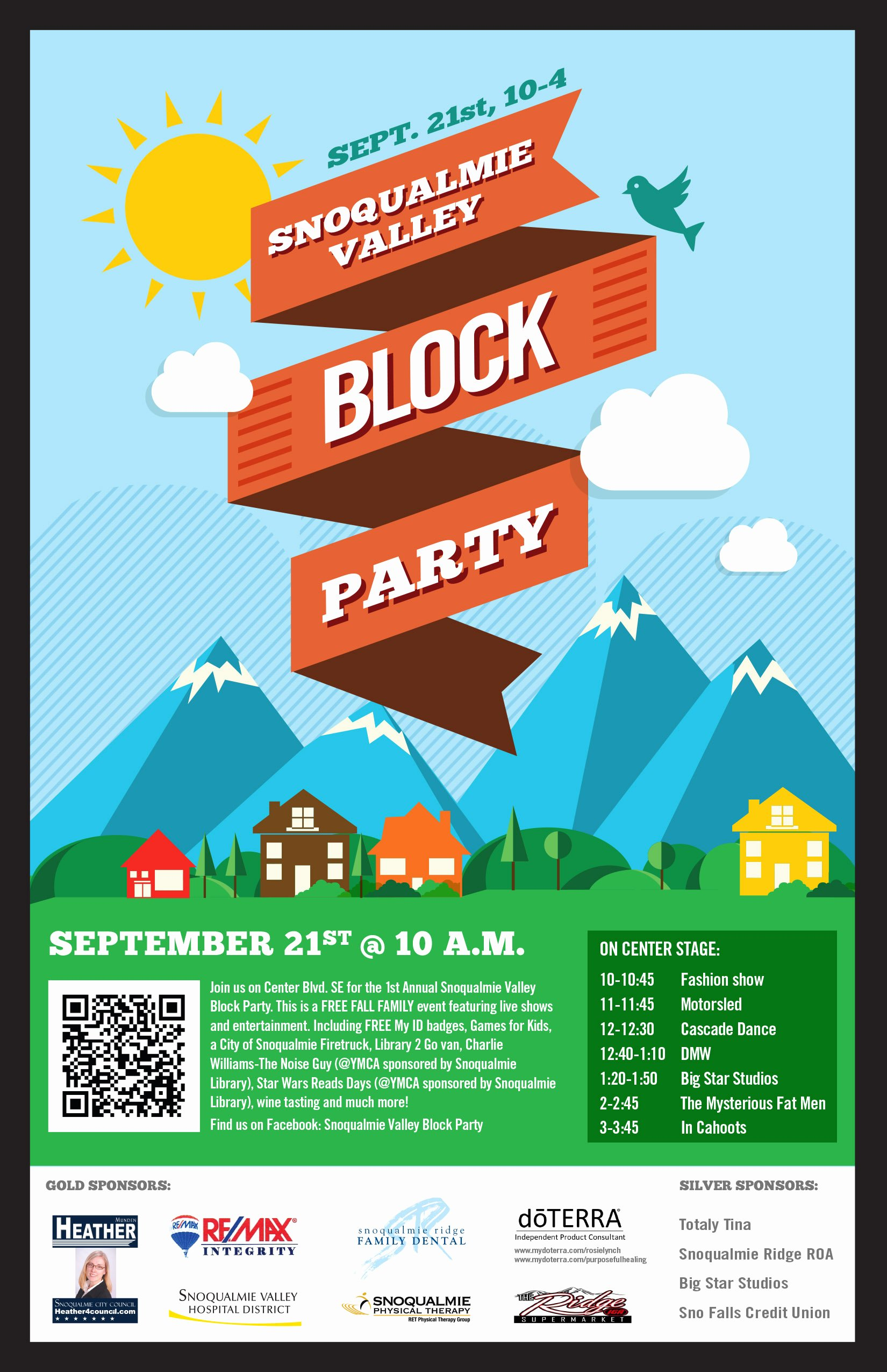 Block Party Flyers Templates Elegant September 2013