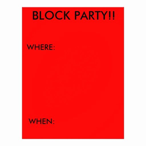 Block Party Flyers Templates Unique 23 Block Party Flyers Block Party Flyer Templates and Printing