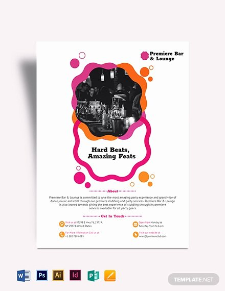Block Party Flyers Templates Unique Block Party Flyer Template Download 830 Flyers In Microsoft Word Publisher Adobe Shop