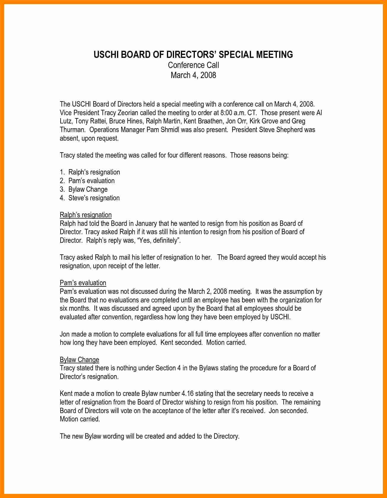 Board Of Directors Resignation Letter Best Of 5 Board Of Directors Resignation Letter Sample