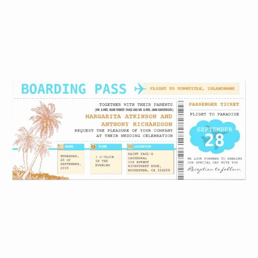 Boarding Pass Invitation Template Free Beautiful Boarding Pass Invitation Template Free Clipart Best
