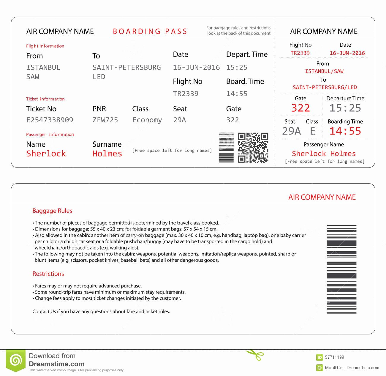 Boarding Pass Invitation Template Free Inspirational Boarding Pass Invitations Templates