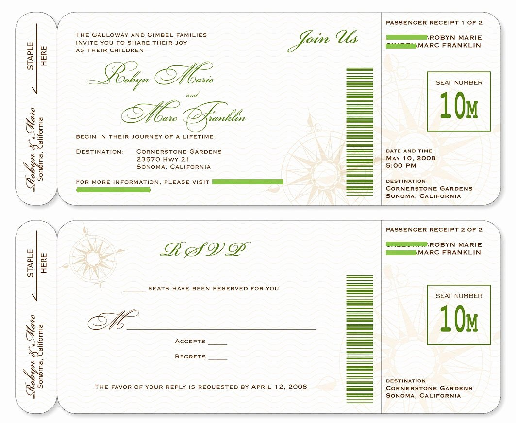 Boarding Pass Invitation Template Fresh Boarding Pass Template Google Search Design Tickets