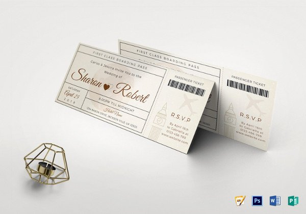 Boarding Pass Template Photoshop Lovely 34 Examples Of Boarding Pass Design & Templates Psd Ai