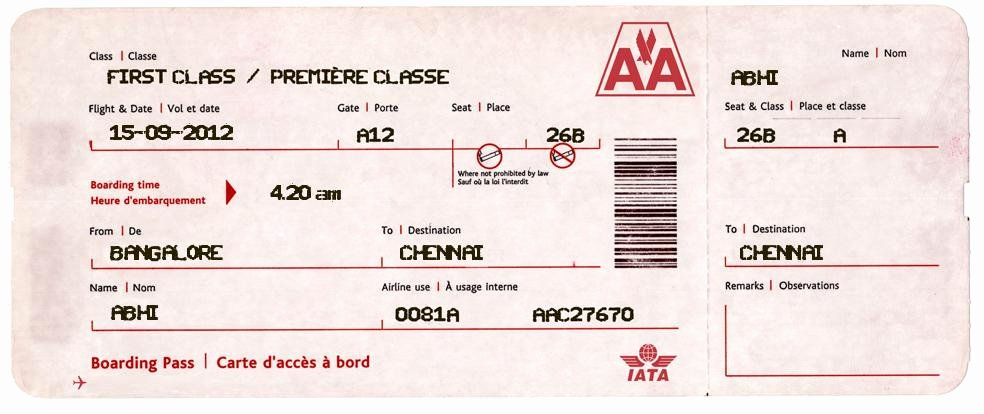 Boarding Pass Template Photoshop New 27 Best Airline Boarding Pass Ticket Template Examples