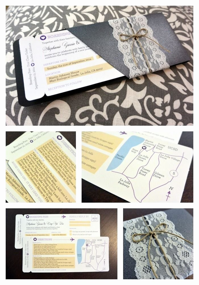 Boarding Pass Wedding Invitations Template Lovely Diy Boarding Pass Wedding Invitation Template Free Download