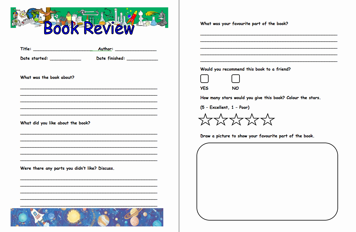 Book Review Template Pdf Beautiful Summer Reading Club 2013 Up Up and Away Week 2 Biggest Faster First with the Mad Scientists