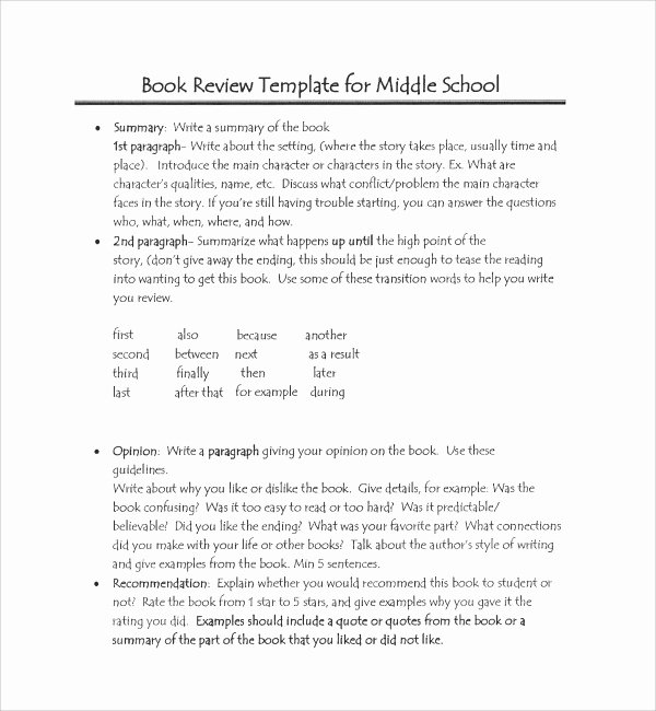 Book Review Template Pdf Unique 8 Sample Book Report Templates