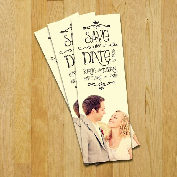 Bookmark Save the Date Beautiful 9 Bookmark Templates Free Sample Example format