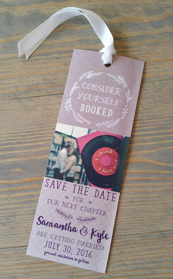Bookmark Save the Date Beautiful Save the Date Bookmark Bookmark Save the Date Save the Date