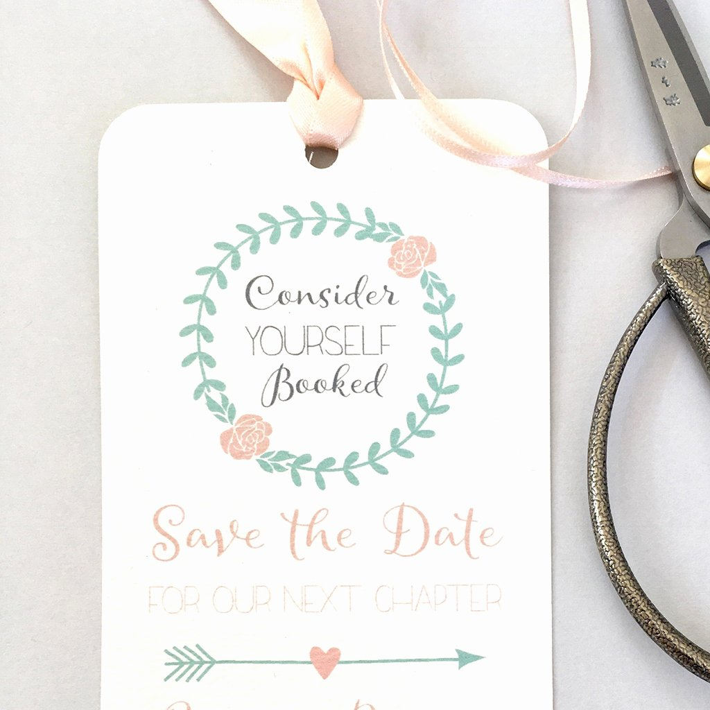 Bookmark Save the Date Inspirational Bookmark Save the Date Eaton Wedding Stationery