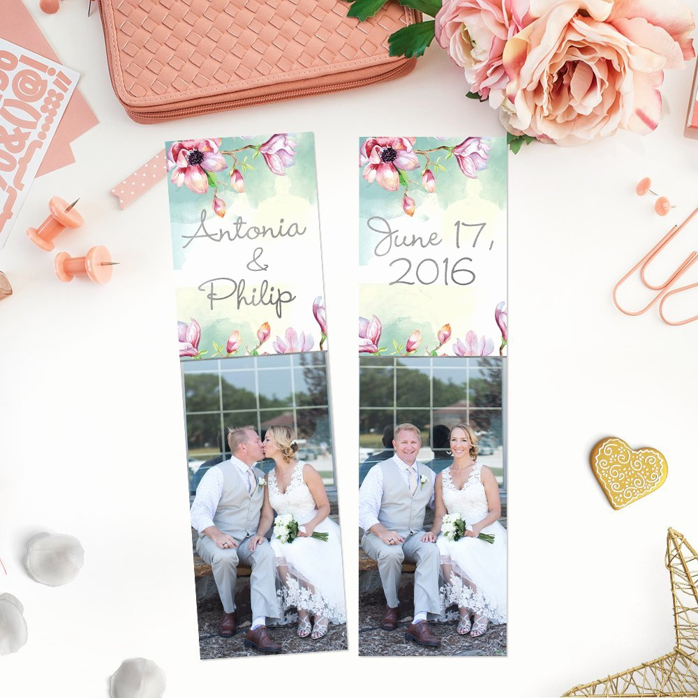 Bookmark Save the Date Inspirational Bookmark Template