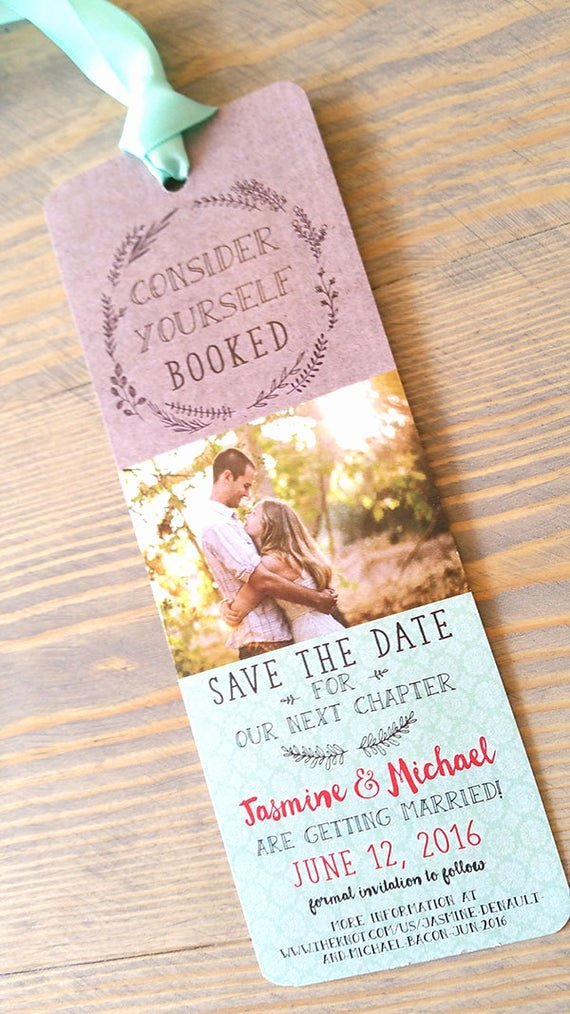Bookmark Save the Date Inspirational Save the Date Bookmark Bookmark Save the Date Save the Date