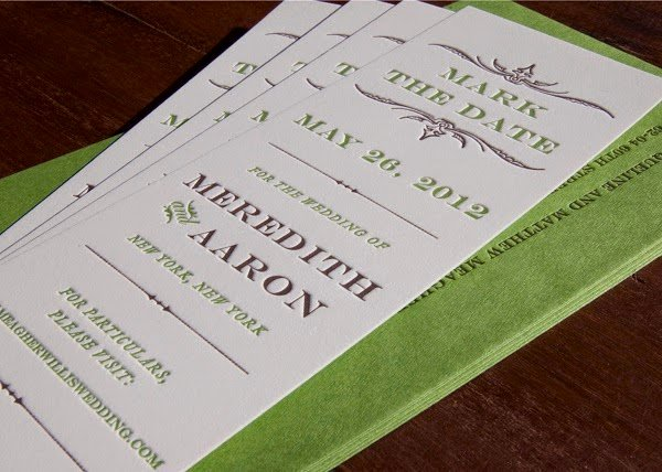 Bookmark Save the Date Inspirational Save the Date Cards Ideas Wording & Advice