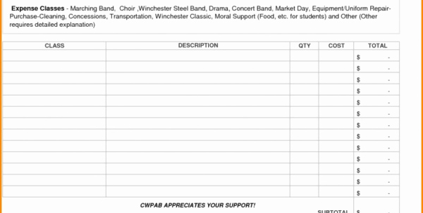 Booster Club Treasurer Report Template Lovely Booster Club Financial Spreadsheet Google Spreadshee Booster Club Financial Spreadsheet