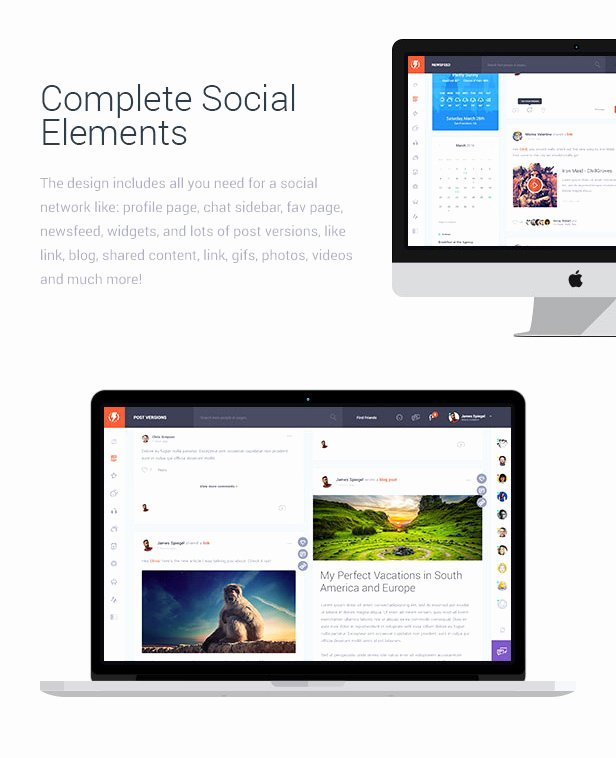 Bootstrap social Network Template Awesome Olympus HTML social Network toolkit themekeeper