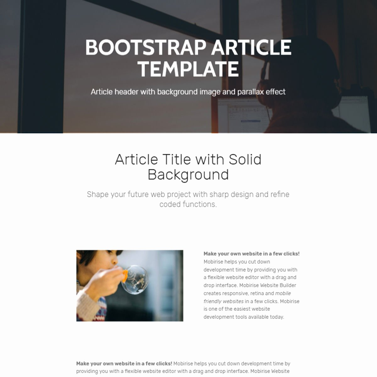 Bootstrap social Network Template Fresh 39 Brand New Free HTML Bootstrap Templates 2019