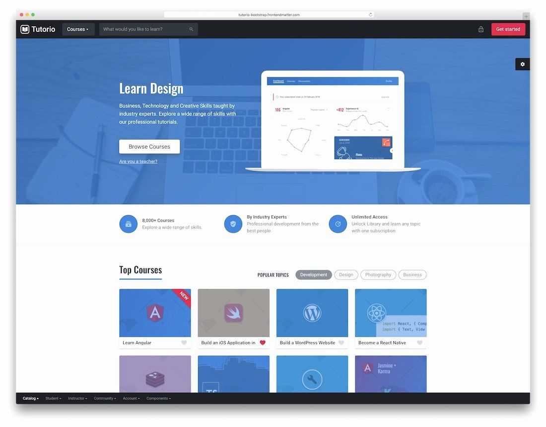 Bootstrap social Network Template New 20 Best Free & Premium Bootstrap social Network Templates 2019 Colorlib