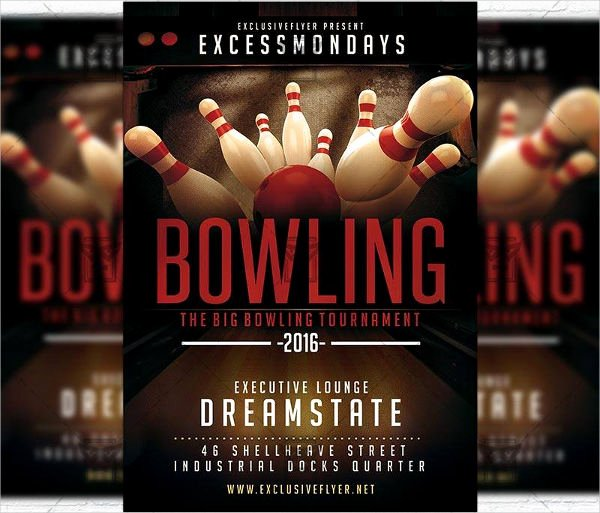 Bowling Flyer Template Free Awesome Bowling event Flyer Cti Advertising