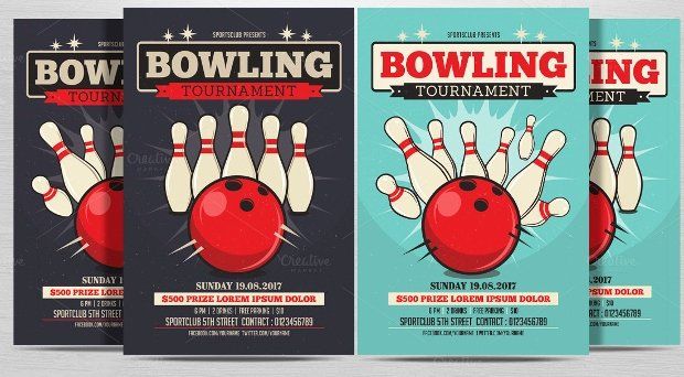Bowling Flyer Template Free Inspirational 21 Bowling Flyer Designs Psd Download