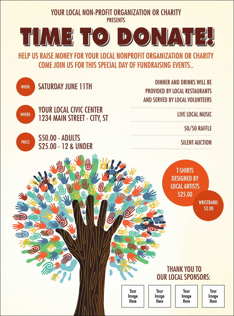 Fundraiser Tree Flyer