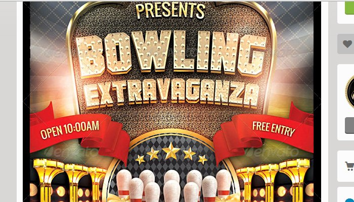 Bowling Fundraiser Flyer Template Inspirational 4 Bowling Fundraiser Flyer Templates