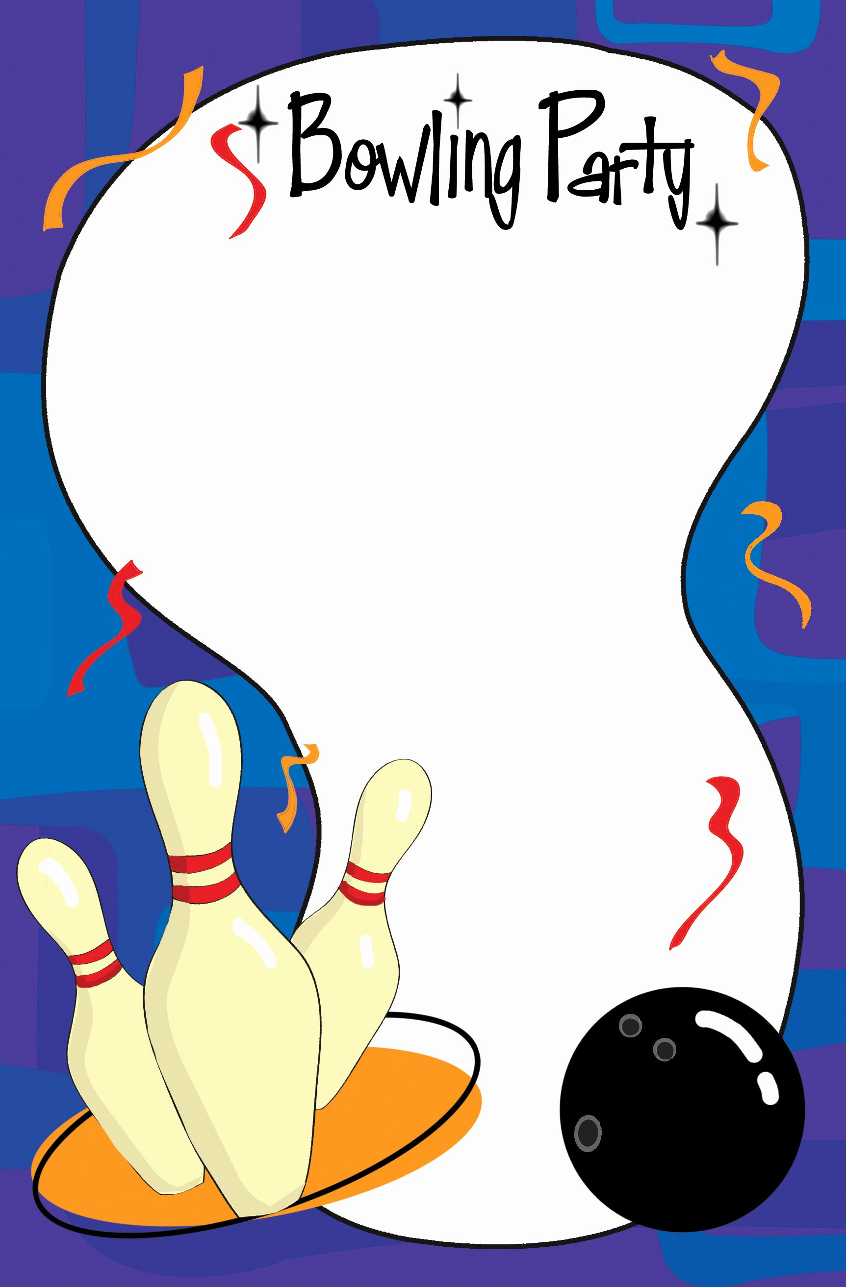Bowling Invitation Template Free Best Of Bowling Invitation Template Cliparts
