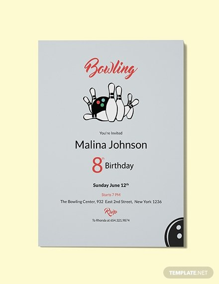 Bowling Invitation Template Free Best Of Free Elegant Invitation Template Download 344 Invitations In Word Publisher Illustrator
