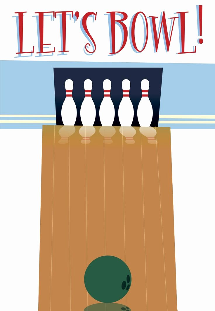 Bowling Invitation Template Free Unique Best 20 Bowling Party Invitations Ideas On Pinterest
