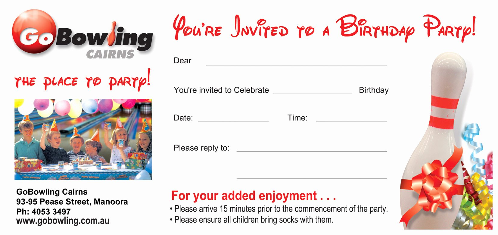Bowling Party Invitation Template Awesome Bowling Party Invitations Templates Ideas Bowling Party Invitations Free Templates