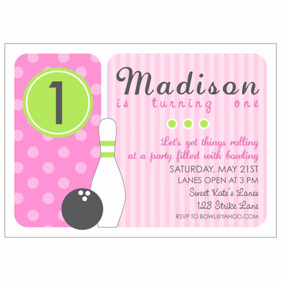 Bowling Party Invitation Template Free Beautiful Bowling Invitations Printable Free