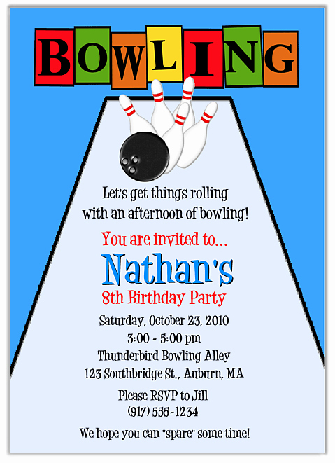 Bowling Party Invitation Template Free Beautiful Free Free Printable Bowling Party Invitation Templates Download Free Clip Art Free Clip Art On