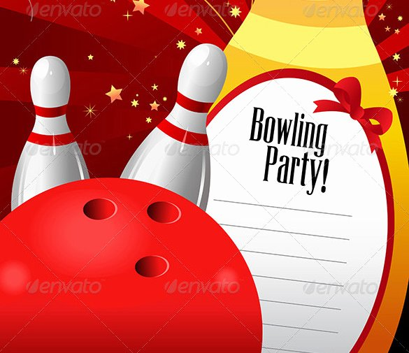 Bowling Party Invitation Template Free Inspirational 24 Outstanding Bowling Invitation Templates & Designs Psd Ai
