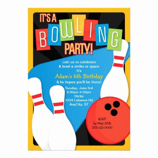 Bowling Party Invitations Free New Free Bowling Party Invitation Template Download Free Clip Art Free Clip Art On Clipart Library