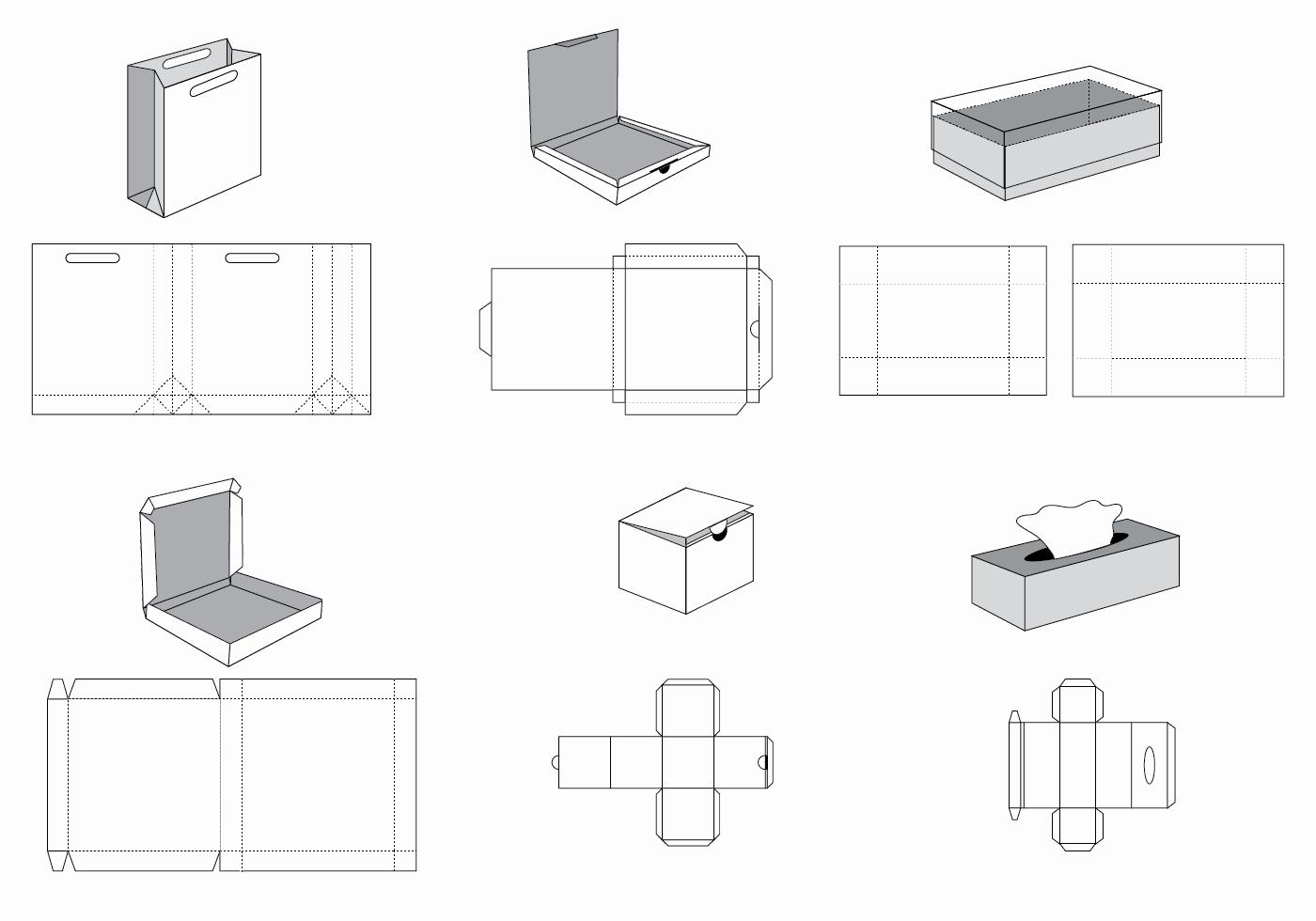 Box Die Cut Template Inspirational Free Die Cut Vector Download Free Vectors Clipart Graphics & Vector Art