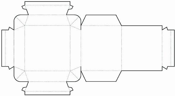 Box Die Cut Template Luxury Die Cutting Image Of Cylinder Box Templates No 02 Templates Bundles Packaging