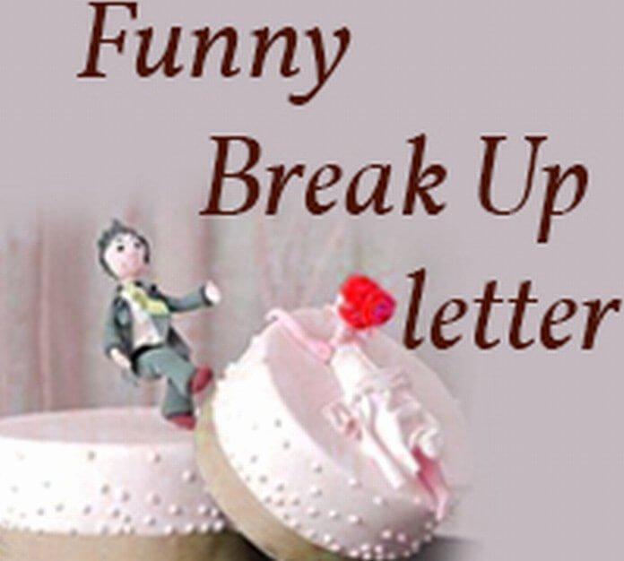 Break Up Letter to Boyfriend Beautiful Funny Break Up Letter Free Letters