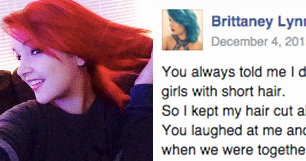 Break Up Letter to Boyfriend Elegant Her Boyfriend Mocks Her Appearance so She Writes Him An Open Letter that Goes Viral