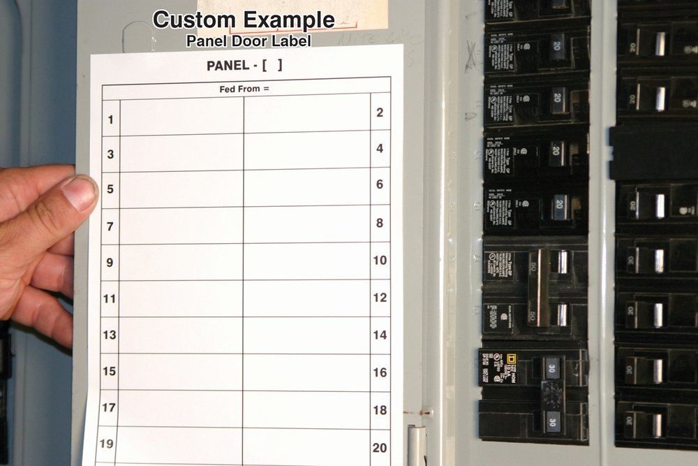 Breaker Panel Label Template Beautiful Safety Signs Safety Tags and Safety Labels by Accuform Signs