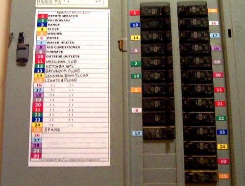 Breaker Panel Label Template Beautiful Save Time and Hassles Know Your Circuit Breakers