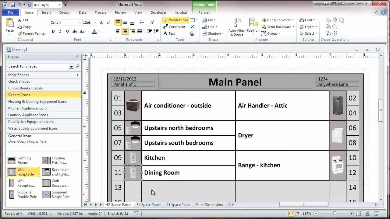 Breaker Panel Label Template Best Of Circuit Breaker Directory Template – Printable Year Calendar