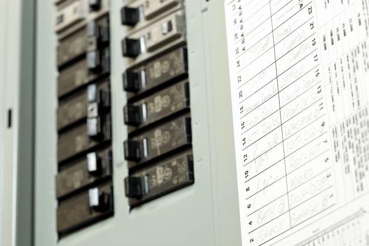 Breaker Panel Label Template Fresh Marking Electrical Service Panel Circuit Breakers