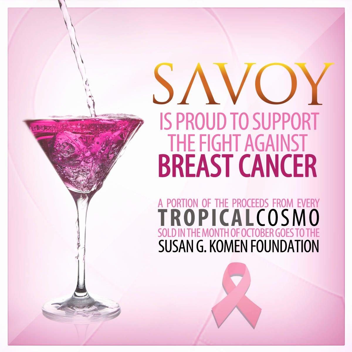Breast Cancer Awareness Flyer Elegant Supporting Breast Cancer Awareness