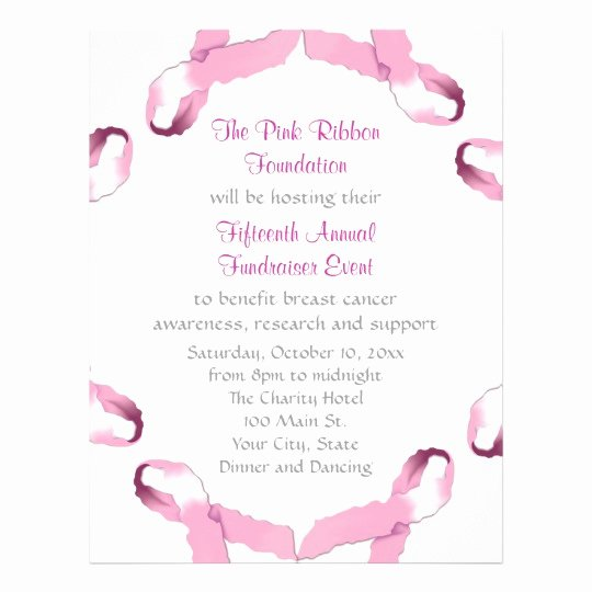 Breast Cancer Awareness Flyer Fresh Pink Ribbon Breast Cancer Awareness Flyer