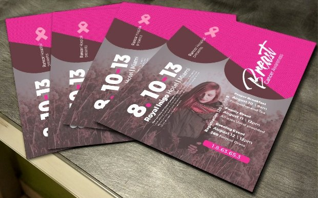 Breast Cancer Flyer Template Unique 40 Fundraising Flyer Templates Printable Psd Ai Vector Eps