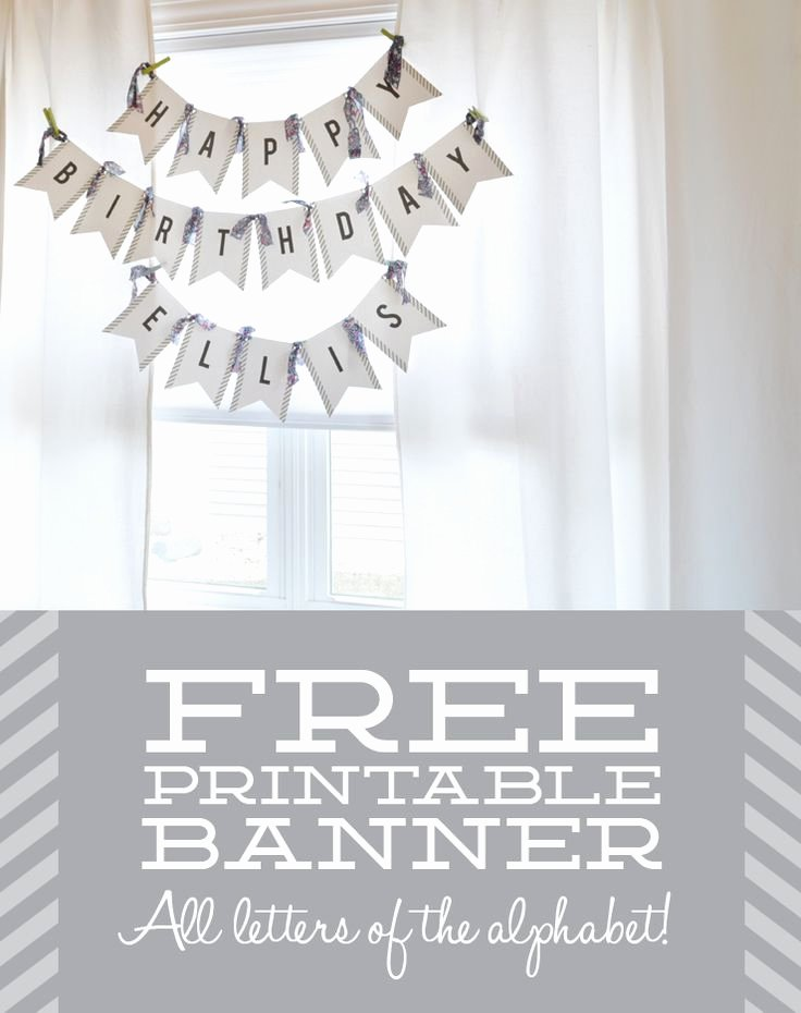 Bridal Shower Banner Template Awesome 17 Best Ideas About Free Printable Banner On Pinterest