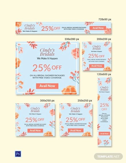 Bridal Shower Banner Template Awesome Free Bridal Shower Banner Sample Psd Illustrator
